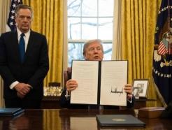 트럼프, 모든 수입 철강·알루미늄에 각 24%·10% 일률관세 검토