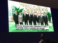 [2018 평양]특별수행단 北 김영남 면담…3당 대표는 최고인민회의 부의장 면담 취소