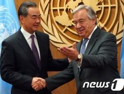 """왕이 中외교부장 """"중국 발전은 역사의 필연적 추세"""""""