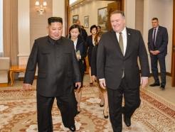 """""""김정은-폼페이오, 핵·종전선언 놓고 의견 충돌""""-日언론"""