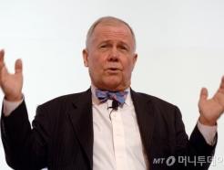 """'투자 귀재' 짐 로저스 """"北경제 개방되면 2~4년뒤 북한버블 올 것"""""""