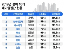 """대기업집단 계열사 25개 늘어…""""기업구조 개편 활발"""""""