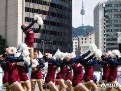 [사진] 합 맞추는 일본 선수들