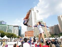 [사진]'아슬아슬 묘기 점프'