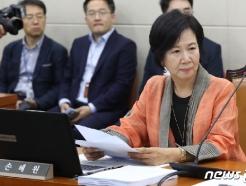 '목포 14억 투기 의혹' 손혜원 오늘 첫 재판…문건 '보안성' 쟁점