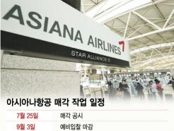 '거물' 빠진 아시아나 인수전…애경·KCGI·미래에셋 참전