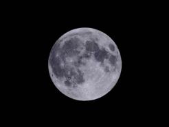 '한가위 보름달' 13일 오후 6시 38분 두둥실