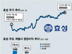 주가상승+고배당 '두마리 토끼' 잡는 효성의 투자매력