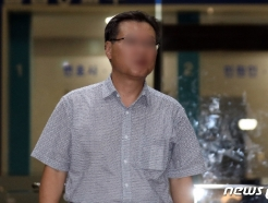 [사진] 조국 장관 처남 보나미시스템 상무, 경찰 조사 마치고 귀가