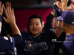 최지만, 류현진 앞에서 '쾅' 16호 홈런