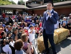 아시아계 美 대선후보가 일으킨 '꼴찌 돌풍'