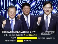 뚜껑 열어보니…기대감 낮아진 삼성 QD디스플레이