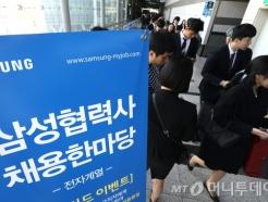 """""""상생협력·일자리창출"""" 삼성 협력사 채용 한마당 개최"""