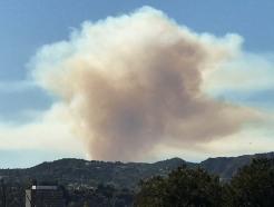 美LA 샌타모니카 산불… 200가구 대피령