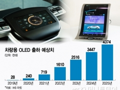 日, 차량 OLED 개발 성공…'韓 추월'은 어려운 이유