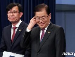 """[문답]정의용 """"'비핵화 협상' 美긴밀한 공조…'컨틴전시' 플랜도 준비"""""""