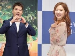 '15살 차' 전현무♥이혜성, 김건모 커플 보다 '두 살 더'
