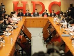 [사진]정몽규 HDC 회장 '아시아나항공 인수 관련 기자회견'