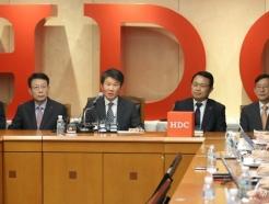[사진]아시아나항공 품은 HDC 컨소시엄