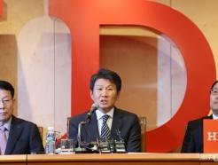 [사진]정몽규 회장 '아시아나항공 지원 아끼지 않을 것'