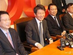 [사진]미소짓는 정몽규 HDC 회장