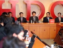 [사진]'아시아나항공 인수' 기자회견하는 정몽규 회장