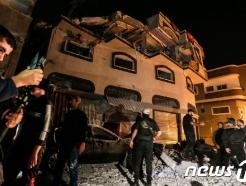 이스라엘-팔 무력충돌 격화…가자 공습에 또 4명 사상