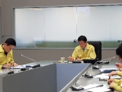[사진] 진영 장관, 독도 헬기 추락사고 수색 진행상황 점검