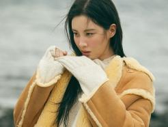소녀시대 서현, 포근한 무스탕 패션…청순한 매력 '물씬'