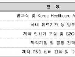"""""""아세안에 K 의약품 알린다""""…초청연수 실시"""