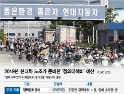 [MT리포트]상경투쟁 버스비만 '억대'…현대차 노조 '파업 예산'