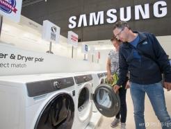 삼성 세탁기·건조기, 미국·유럽서 '최고 제품' 극찬