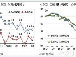 """현대硏 """"韓경기 갈림길에…더블딥 가능성도"""""""