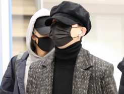 [사진]BTS 슈가 '댄디한 공항패션'