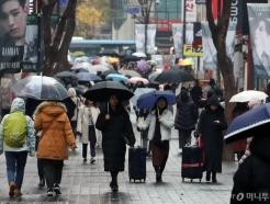 [내일 날씨]모레까지 중부 빗방울…강원 영동 '건조특보' 유의
