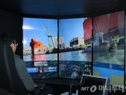 <strong>SK</strong>T, 삼성重과 맞손···5G 기반 모형선박 자율주행 성공