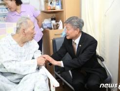 [사진] 박삼득 국가보훈처장, 대구보훈병원 방문