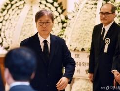 [사진]윤부근 부회장, 고 김우중 전 대우그룹 회장 빈소 조문
