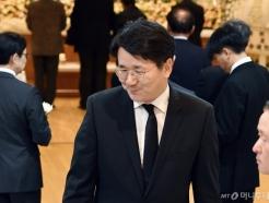 [사진]고 김우중 전 회장 빈소 찾은 조원태 한진그룹 회장
