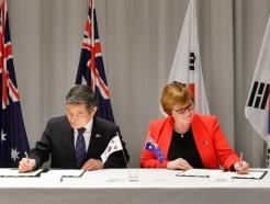 """한-호주, 안보·국방협력 강화…""""남북·북미대화 지속돼야"""""""