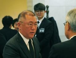 [사진]정의선 부회장, 고 김우중 전 회장 빈소 조문