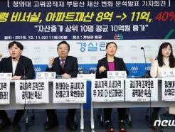 [사진] 文정부 청와대 고위직 부동산 재산 40% '껑충'