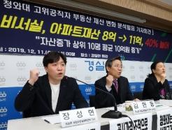 [사진] '靑 고위공직자 집값 폭등' 규탄하는 경실련