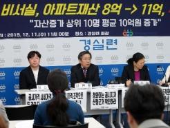 [사진] 청와대 고위공직자 부동산 재산 변화 발표
