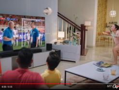 [MT리포트]박항서호 경기날엔 삼성 QLED TV 광고가…