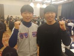 쌍둥이 동생과 '키스톤'... '프로 미지명자' 박정우의 꿈 [★현장]