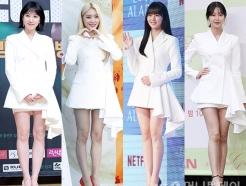 박은빈, 재킷을 원피스처럼…청하·김소현도 입은 '그 옷'