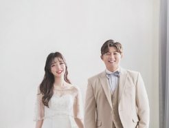 키움 김정후, 3년 열애 끝 2세 연하 신부와 결혼