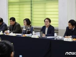 [사진] 송정중학교서 간담회 하는 조희연 교육감