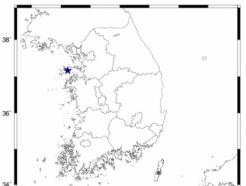 충남 서산 해역서 규모 2.0 지진…인천에 영향
